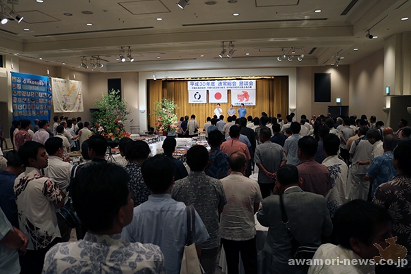2018_05-29_the-6th-okinawa-prefecture-sake-brewery-association-general-meeting_mr-sakumoto-manabu-assumes-the-new-president05