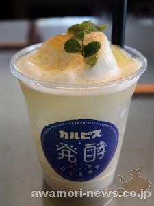 2018_08-18_refreshing-summer-drink_add-calpis-to-sakiyama-shuzousho-moromi-vinegar01